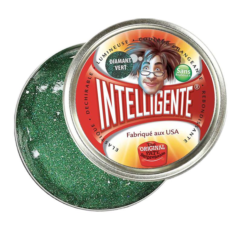 pate-intelligente-diamant-vert-pailletee